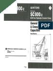 Sumitomo SC800(MOC Crane)