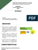 Clase 7 Archivos