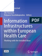 Information Infrastructures within European Health Care
