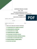 Ficha de Analisis de Modelos