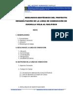 Estudio Geotecnico Para Linea de Conduccion Cuchilla Vieja