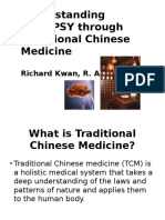 Traditional Chinese Medicine - Richard Kwan