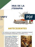 HISTORIA DE LA PSICOTERAPIA