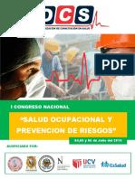 Congreso en Salud Ocupacional y Prevencion de Riesgos