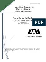 Taller M - Arnoldo de La Rocha