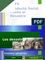 Conducta Social Frente Al Desastre