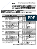 f5a Timetable - 150 Sets - Blue