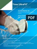 Kit coprisonda AllTime UltraFit ®by Amedic, coprisonda sterile in poliuretano con gel ed elastici