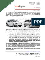 Alerta 21 Volkswagen