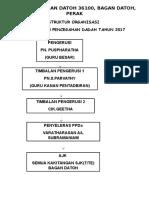 Carta Organisasi Dadah