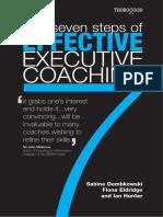Coaching the 7 Steps of Effective Executive Coaching