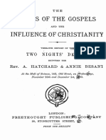 A.hatchard & Annie Besant. - The Jesus of the Gospels and the Influence Of