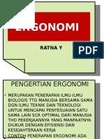 FAAL KERJA & ERGONOMI