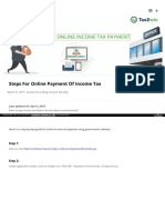 Onlineincometaxpayment