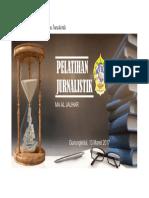 Background Dekorasi Pelatihan Jurnalistik