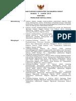 Peraturan Daerah Kabupaten Halmahera Barat Nomor 5 Tahun 2015 Tentang Pemilihan Kepala Desa