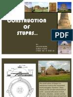 Construction of Stupa