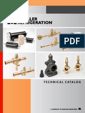 Mueller Refrigeration Technical Catalog pdf | Valve