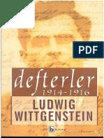 Ludwig Wittgenstein - Defterler  1914-1916.pdf