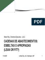 Cadenas de Suministros Esbeltas o Apropiadas (Lean or Fit).pdf