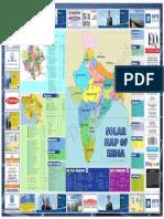 Mapa Solar India