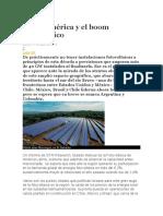 Latinoamérica y El Boom Fotovoltaico