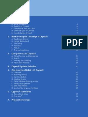 Drywall Handbook | Drywall | Building Insulation