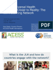 Bringing Universal Health Coverage Closer to Reality - The Joint Learning Network (JLN) Experience