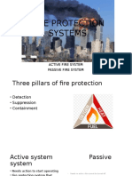 Active and Passive Fire Fighting