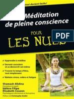 La Méditation de Pleine Conscience Pour Les Nuls2