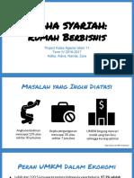 rumah berbisnis - usaha syariah