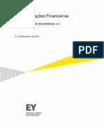EDM_Relatório de Contas 2013