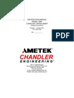 Model 3260 Constant Speed Mixer Manual