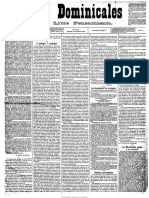 1885 AMC Escuelas Concha Las Dominicales Del Libre Pensamiento. 11-1-1885