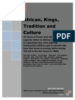 African Kings ,Religion and Tradition