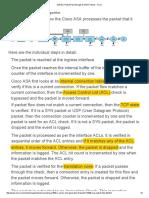 ASA Packet Flow