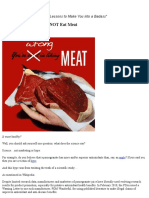 100 Scientific Reasons to NOT Eat Meat