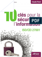 10 Clés Pour La Sécurité de l'Information - Afnor
