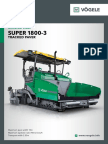 Paver SUPER 1800-3 Brochure
