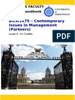 BUSI1475 Contemporary Issues in Managementpartner Course Handbook 2016-17 FT