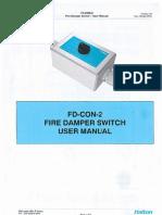 Controle Dos Dampers - Halton - FD-CON-2