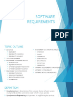 Software Requirements and Software Design Basics