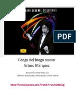 Gustavo Dudamel dirige La Conga Del Fuego Nuevo de Antonio Márquez