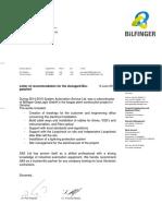 Letter of Recommendation GreyLogix