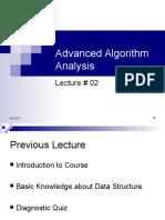 02-AlgorithmAnalysisIntroduction