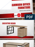 Highmoon Executive Desks Catalogue