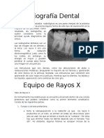 Radiografía Dental