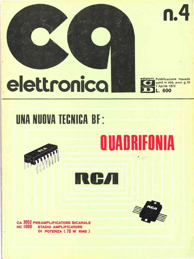 Schemi Elettrici Lesa : Cq elettronica 1972 04.pdf
