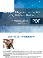 PPT Pentaho y Big Data 20170518