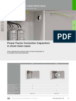 Power Factor Correction Capacitors in Sheet Steel Cases 2016